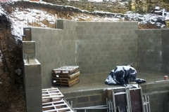 Retaining walls in Eastcombe, Stroud