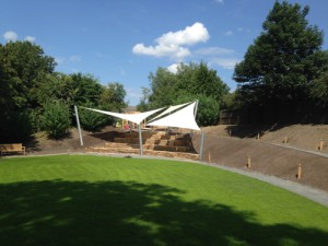 Shade Sail Canopy in Lancashire